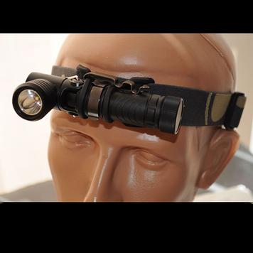 """Фонарь электрический г-образный фонарь Fenix MC11, Дальность луча: 87 м, Яркость: 155 (""""вспышка""""), 105 (ярко),"""
