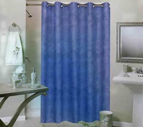 Занавески для ванной Pretty Home (Синий), фото 2
