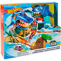 """Трек Hot Wheels(Хот Вилс) """"Схватка с акулой"""" Mattel"""