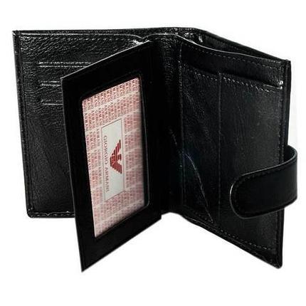 Бумажник двойного сложения мужской GIORGIO ARMANI A20803-3 (A03-3, коричневый), фото 2