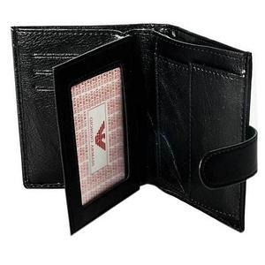 Бумажник двойного сложения мужской GIORGIO ARMANI A20803-3 (A03-3, коричневый)