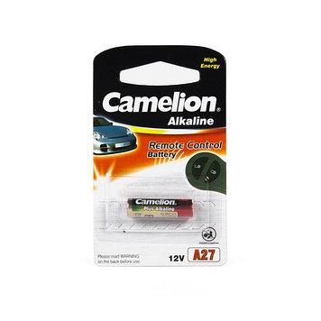 Батарейка Camelion A27-BP1 12 В, Упакова: Блистер 1 шт., Аналоги: A27, Тип батареи: Щелочная (Алкалиновая), Со