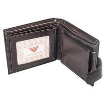Бумажник двойного сложения мужской GIORGIO ARMANI A20803-3 (A03, черный), фото 3