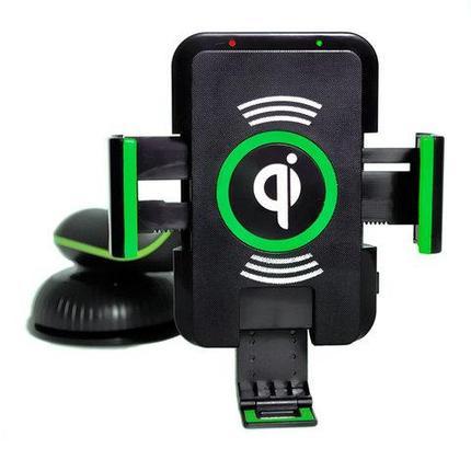 Зарядное устройство для смартфонов беспроводное автомобильное Saitake Qi STK-A9, фото 2