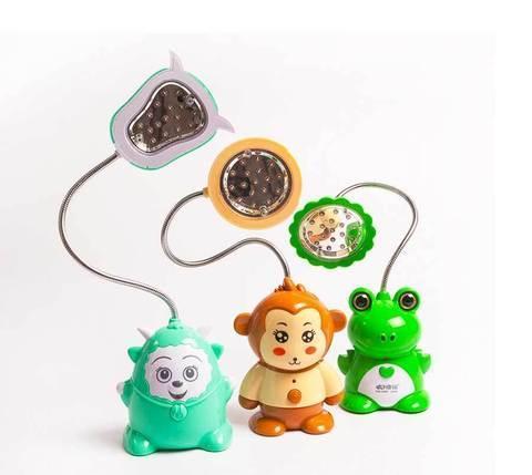 Лампа настольная детская с аккумулятором KMS KM-6609/6612/6617 (Обезьяна (KM-6617)), фото 2