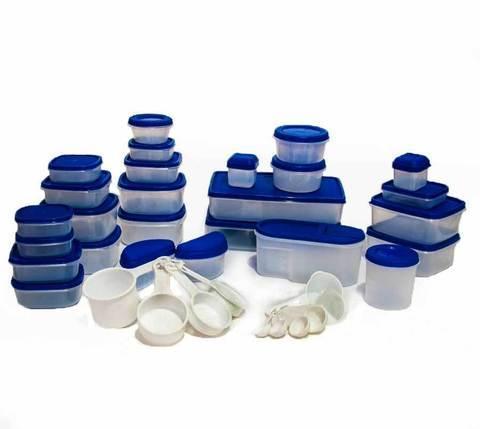 Набор контейнеров для пищевых продуктов Galaxy SPAIN {100 предметов}, фото 2