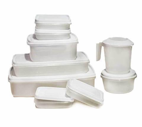 Набор контейнеров для пищевых продуктов Galaxy SPAIN Linea Micro, фото 2