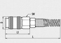 Пневмоклапан быстросъемный UNI/D3, фото 1