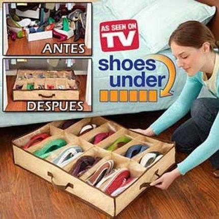 Органайзер для обуви Shoes Under (Компактный и мягкий), фото 2