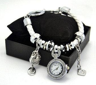 Часы-подвеска с браслетом в стиле PANDORA