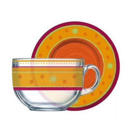 Чайный сервиз Luminarc PAREO CORAIL G4438 на 6 персон, фото 2