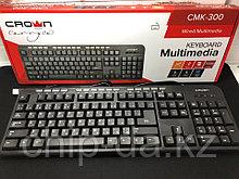 Клавиатура проводная, мультимедийная Crown cmk-300