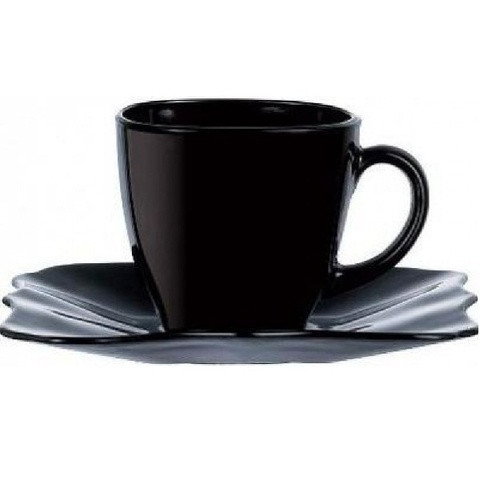 Чайный сервиз LUMINARC AUTHENTIC Black E4958