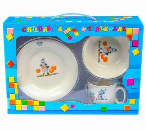 Набор детской посуды Happy XH256-16