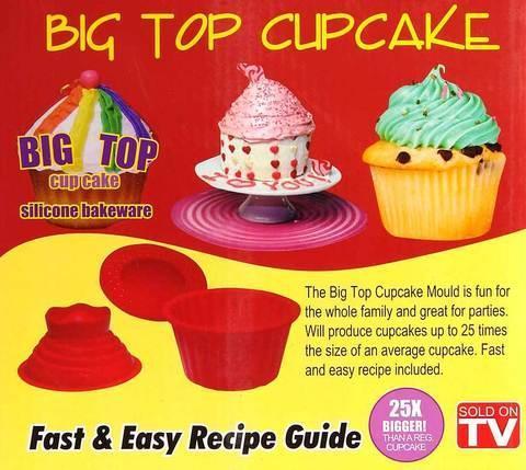 Набор силиконовых форм для кексов Big Top Cupcake, фото 2