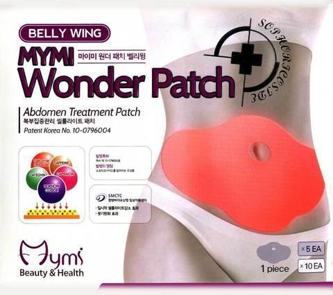 Чудо-пластырь для похудения Mymi BELLY WING {5шт.}, фото 2