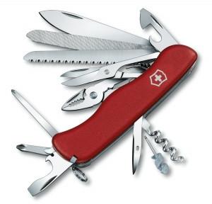 Нож складной солдатский Victorinox Work Champ, Кол-во функций: 23 в 1, Цвет: Красный, (0.9064)