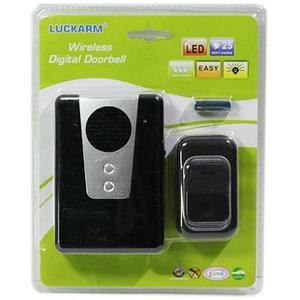 Звонок беспроводной со светоиндикацией LUCKARM-3903