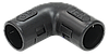 Поворот открывающийся на 90гр. CI32G IEK черный