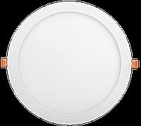 Светильник ДВО 1610 белый, круг LED 24Вт 6500 IP20 IEK