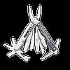 Мультитул карманный Leatherman Joice XE6, Кол-во функций: 18 в 1, Цвет: Серый, (XE6lgb), фото 3