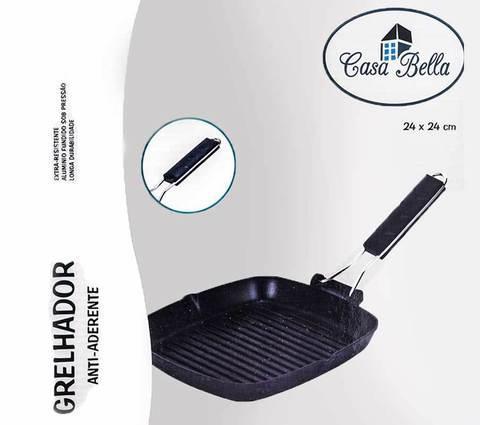 Сковорода для гриля Casa Bella 24x24 см, фото 2