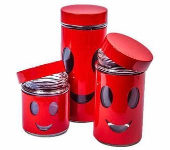 """Набор банок для сыпучих продуктов """"Олимпик"""" H1205"""