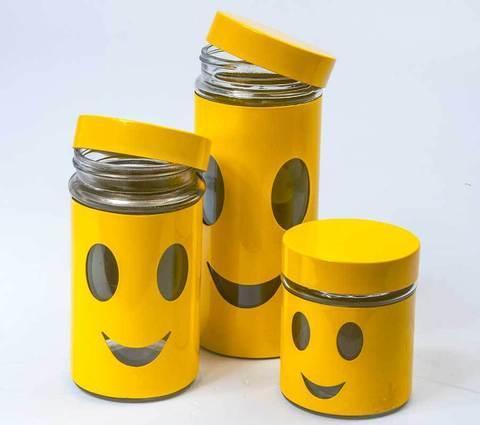 """Набор банок для сыпучих продуктов """"Олимпик"""" H1205, фото 2"""