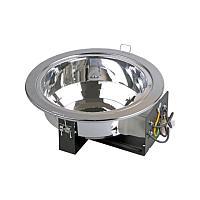 Светильник ЛВО1503 хром/круг рел мат край Е27 2х26 IP20 ИЭК