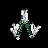 Мультитул брелок Leatherman Micra, Кол-во функций: 10 в 1, Цвет: Зелёный, (MICRA), фото 2