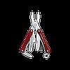 Мультитул брелок Leatherman Squirt PS4, Кол-во функций: 9 в 1, Цвет: Красный, (PS4), фото 2