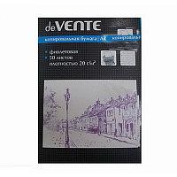 Бумага копировальная deVente фиолетовая 50л. # 2041400