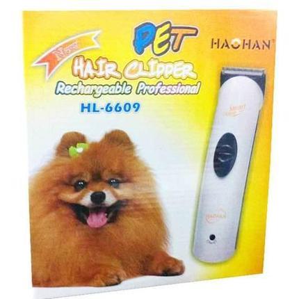 Триммер для стрижки животных HAOHAN HL-6609 с аккумулятором, фото 2