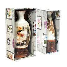 Вазочка керамическая декоративная в винтажном стиле (Амфора), фото 2
