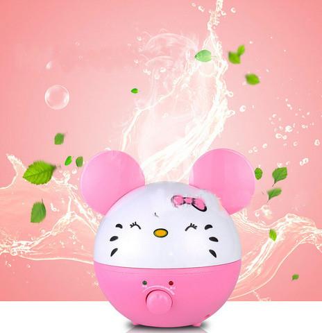 Увлажнитель воздуха ультразвуковой ULTRASONIC {2л} (HD-1338 Kitty)