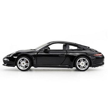 Модель автомобиля коллекционная Rastar Porsche 911, 1:24, Материал: Металл, Цвет: Чёрный, (56200B)
