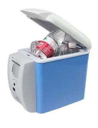 Автохолодильник термоэлектрический с функцией подогрева 7,5 л, фото 2