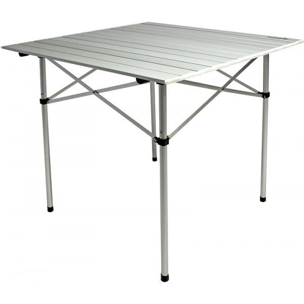 Стол складной Norfin Glomma-S, Материал: Алюминий, 30 кг, Цвет: Серебристый, Упаковка: Коробка, (NF-20302)