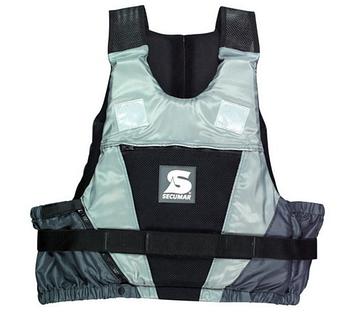 Спасательный жилет Secumar Jump, M, 40-70 кг, Класс: EN393, Плавучесть: 50N, Цвет: Черно-серый, (12243)