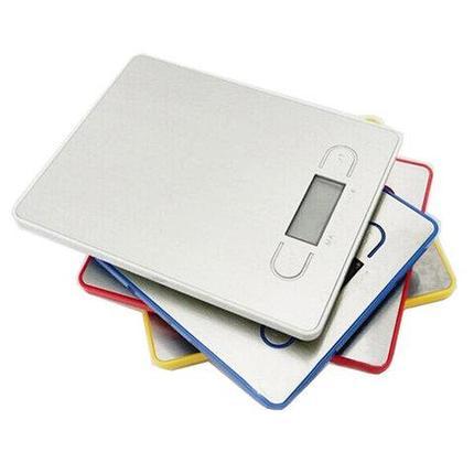 Весы кухонные электронные Hi-Tech EB (Белый), фото 2