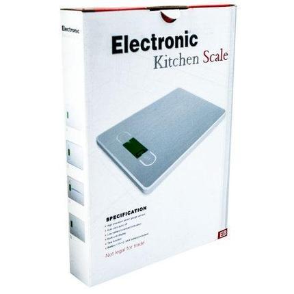 Весы кухонные электронные Hi-Tech EB (Желтый), фото 2