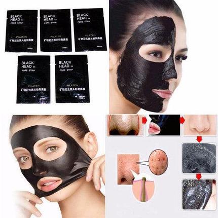 Маска-пленка для кожи лица PILATEN против черных точек [комплект на месячный курс], фото 2