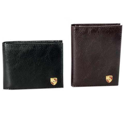 Бумажник мужской PORSCHE BL-334/BL-335 (Черный / Вертикальная)