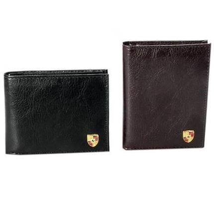 Бумажник мужской PORSCHE BL-334/BL-335 (Черный / Вертикальная), фото 2