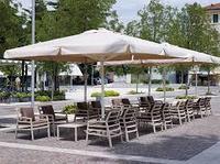Зонт для летних площадок Сан Ремо 4х4 квадратный
