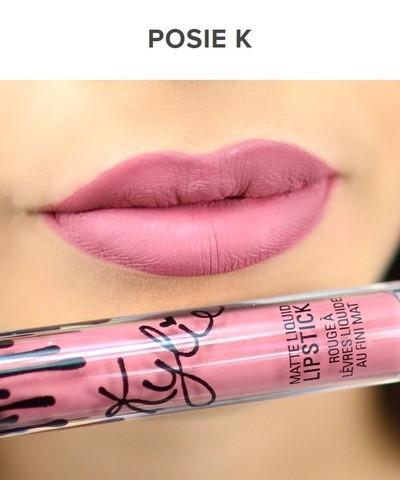 Жидкая матовая помада + карандаш KYLIE Lip Kit от Кайли Дженнер (Posie K)