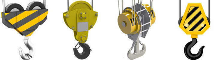 Крюковая подвеска для тали TM-1S, Г/п, т 2, фото 2