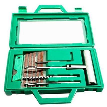 Набор для ремонта проколов бескамерных шин ABORASCO GROUP {12 предметов} в кейсе, фото 2