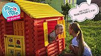 Детский игровой домик PALPLAY Лесной домик Умные липучки