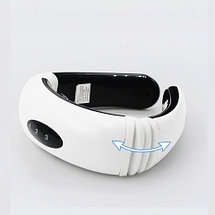 Массажер-миостимулятор шеи с инфракрасными лучами и магнитным полем Neck Therapy Instrument MJY-5830, фото 3